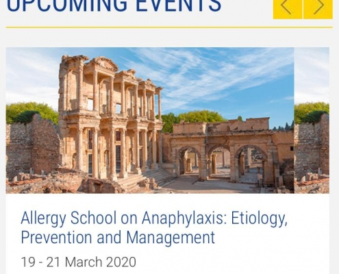 EAACI Allergy School İzmir 2020